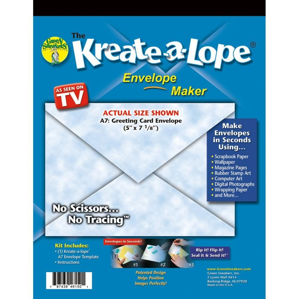 KreateALope Envelope TemplateA  I Want This