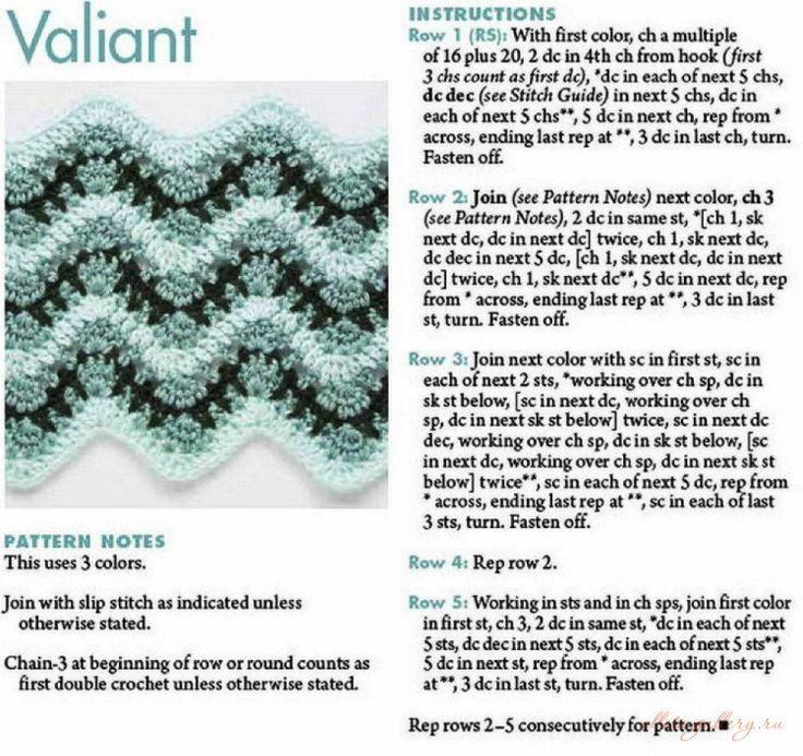 Pin de Gloria Correa V. en Crochet stitch, puntos | Pinterest | Puntos