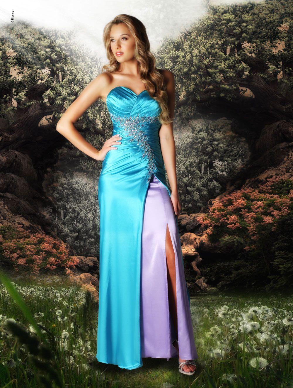 Disney forever enchanted prom dress lyssa pinterest prom
