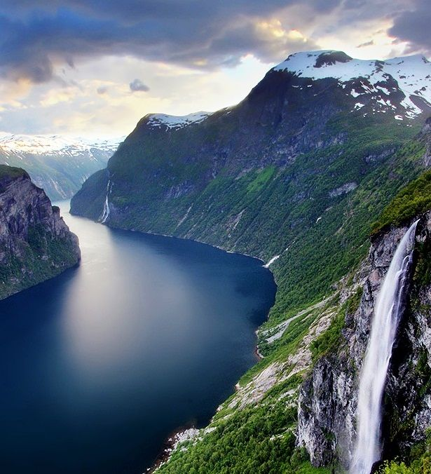 Beautiful Places Names World: Most Beautiful Cities In Norway