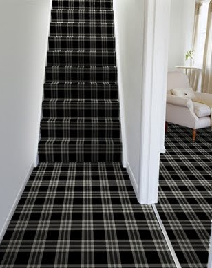 Lucy And Company Tartan Carpet Plaid Decor Carpet Stairs