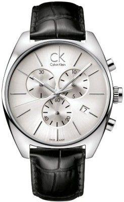 39d742d861a Relógio Calvin Klein Quartz Exchange Pig Skin Strap Grey Dial Men s Watch  K2F27120  Relógio  Calvin Klein