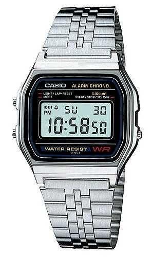 6562686155a9 Casio A158WA-1 - Casio saat modelleri