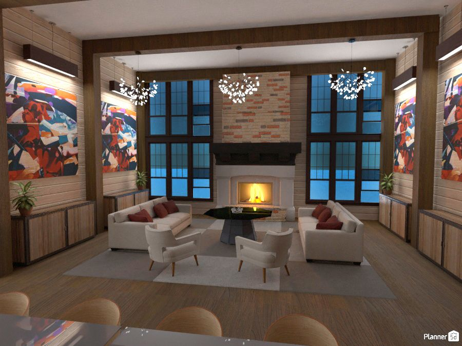 Living Room Fireplace Ideas Planner 5d Online Interior Design Interior Design Courses Online Home Design Software
