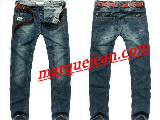 Vendre Jeans G star Homme H0008 Pas Cher En Ligne. | G star