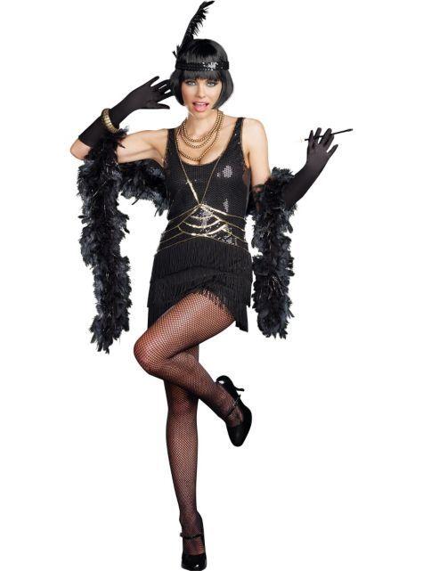 Adult Ain\u0027t Misbehavin\u0027 Flapper Costume - Party City Birthday dress