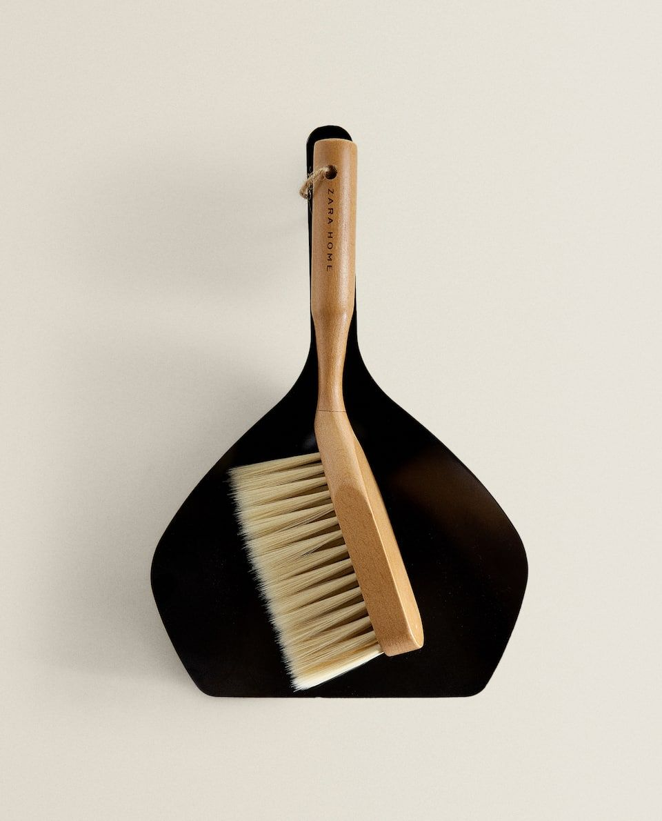 URBN Living Green Dustpan /& Broom Set