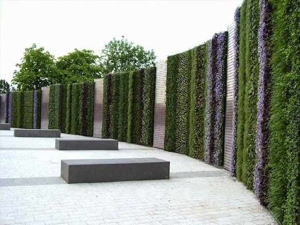 10 ideas para jardines verticales - Jardineras Verticales