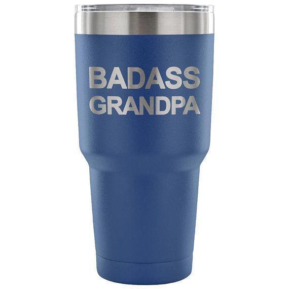 Badass Grandpa Gift, Funny Grandpa Gift, Grandpa Tumbler, Funny Grandpa Cup, Fathers Day Grandad, Grandfather Tumbler, Father's Day Present