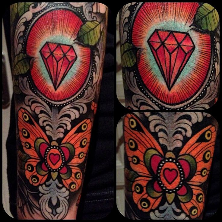 d965bb877 Ruby Tattoo Designs Ruby Amp Butterfly Tattoo by | design // tattoos ...