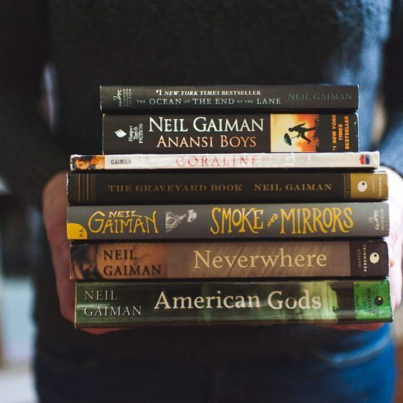 Next to Agatha Christie and Dean Koontz, there's no other intense read I love getting into more than Neil Gaiman. Literary genius. #theardentbiblioreads #februaryphotochallenge #intensereading
