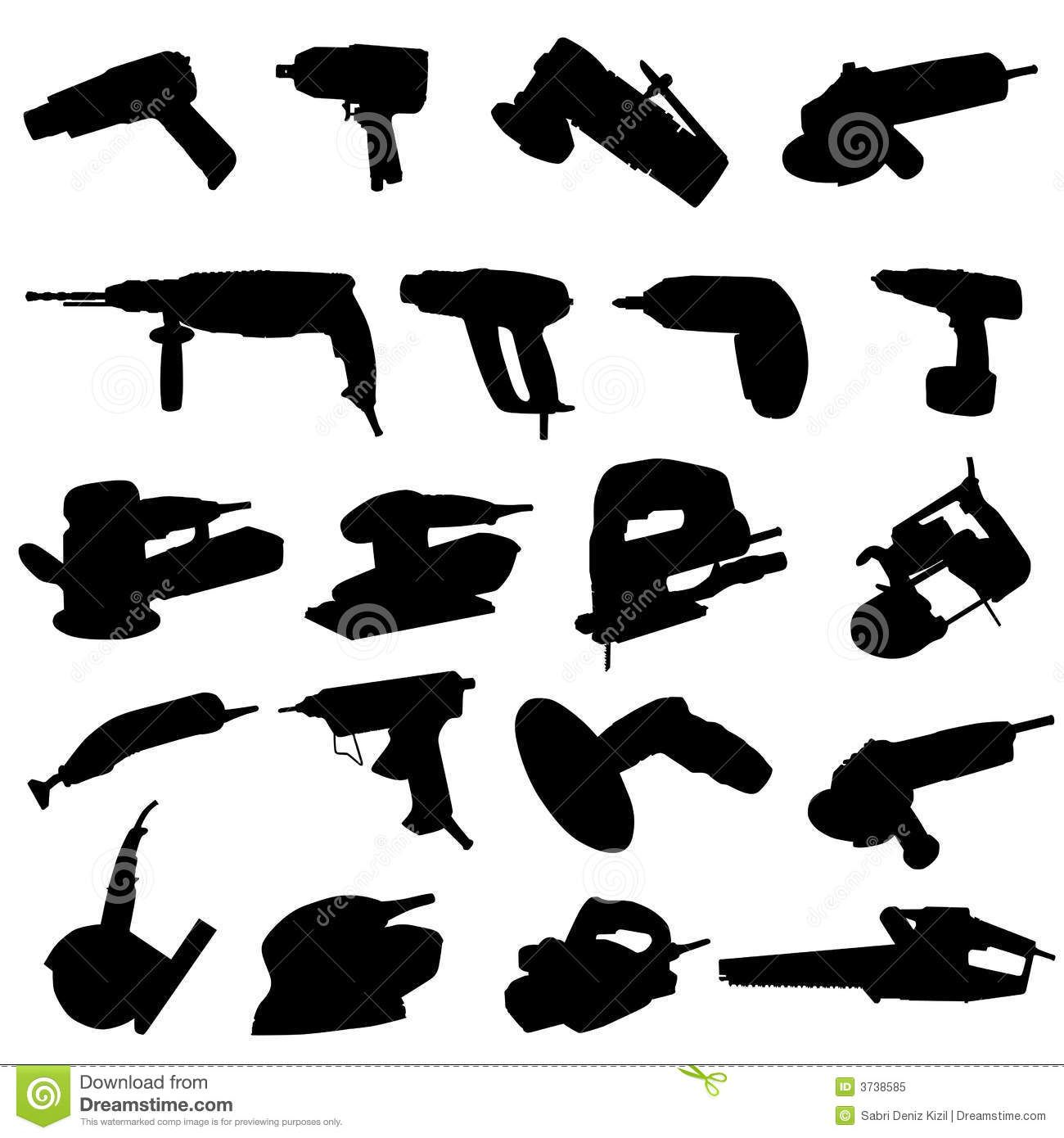 hand tool gallery - Google Search | Tool Silhouettes ...