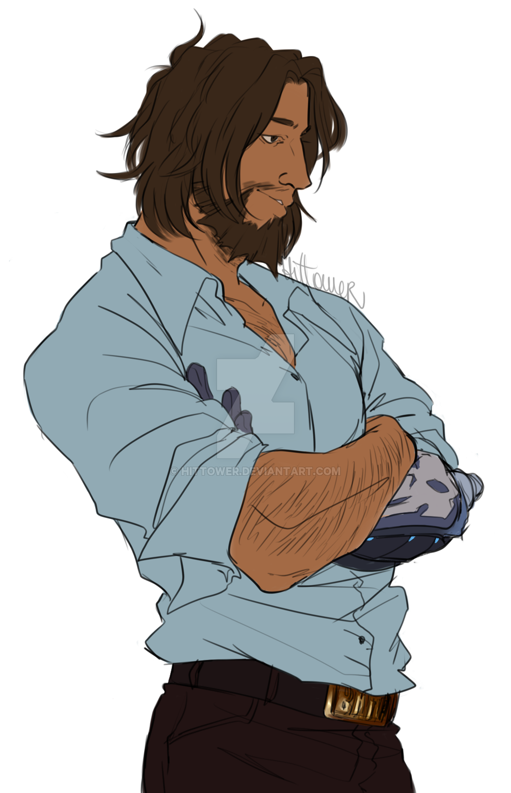 Casual Mccree By Hittower Mccree Overwatch Overwatch Fan Art Mccree