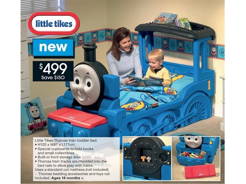 Little Tikes Thomas Train Toddler Bed Aw How Cute Is This