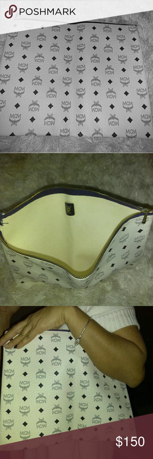 2 MCM satchels bags bundle. ALREADY SOLD ! ( Black used ) white&black new MCM satchels bags MCM Bags Satchels