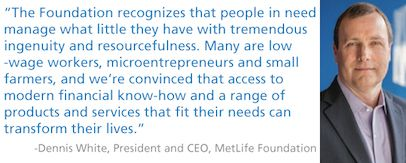 Metlife Quote Endearing Metlife Foundation Mission Quote President And Ceo  Metlife . Review