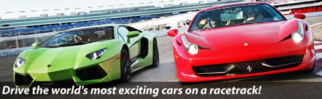 Racing School Exotics Racing School Is The Ultimate Driving Experience At Las Vegas Speedway With Ferrar Supercar Driving Experience Driving Experience Racing