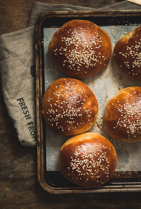 Hamburger Buns - Pretty. Simple. Sweet.