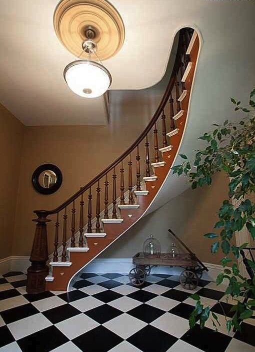Staircase Curved Freestanding