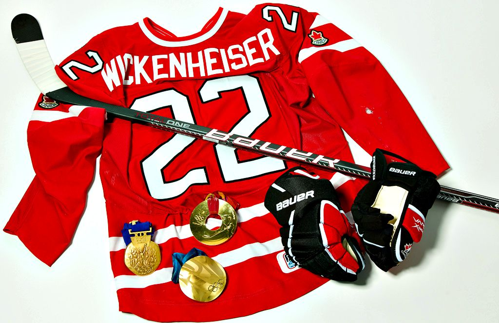 "f***yeahhockeyladies: "" ""People would say, 'Girls don't play hockey. Girls don't skate.' I would say, 'Watch this.'"" –Hayley Wickenheiser, four-time Olympic medalist, first woman to play & score..."