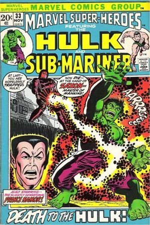 Marvel Super-Heroes Vol 1 33 Slightly Sensational!