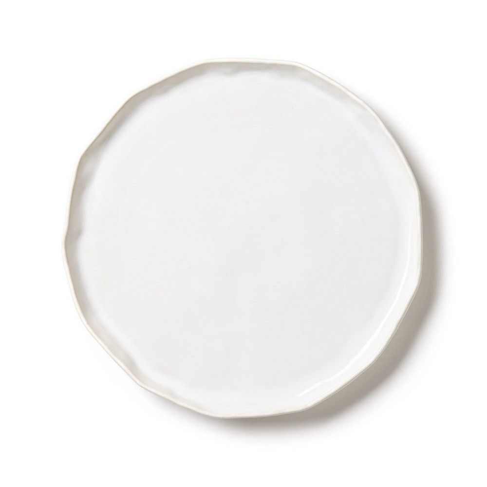 Forma Cloud Small Round Platter Charger Vietri Platters Serving Piece