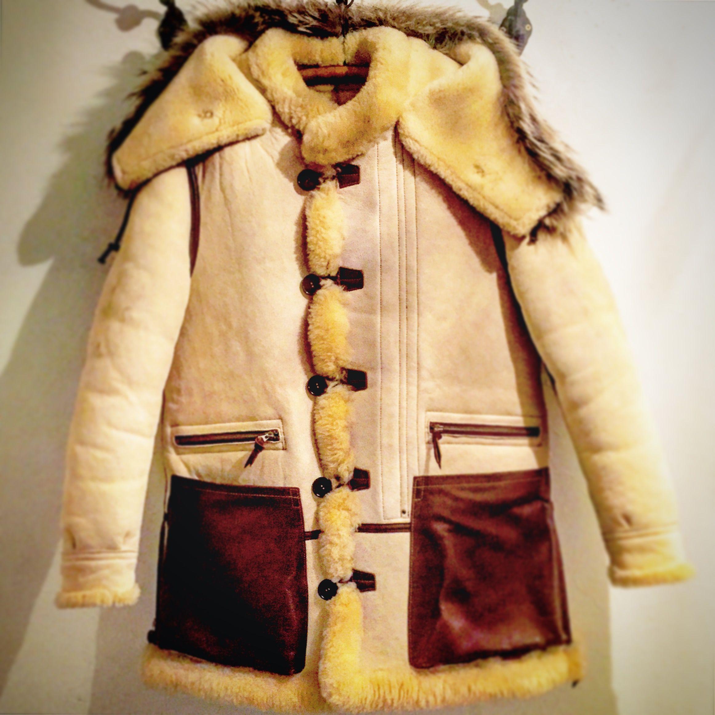 Sheepskin Coat, Clothes, Leather Jacket
