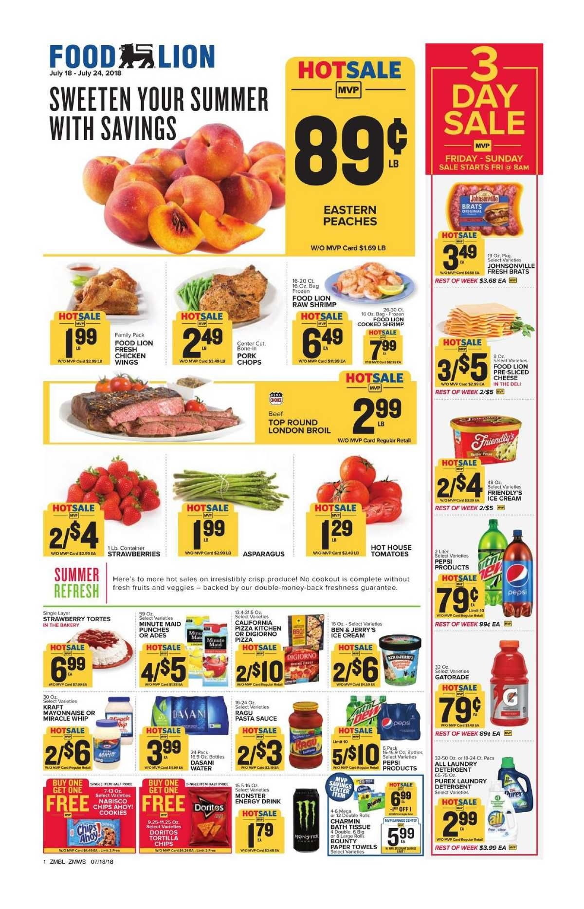 Food Lion Weekly Ad Flyer December 26 2018 January 1 2019