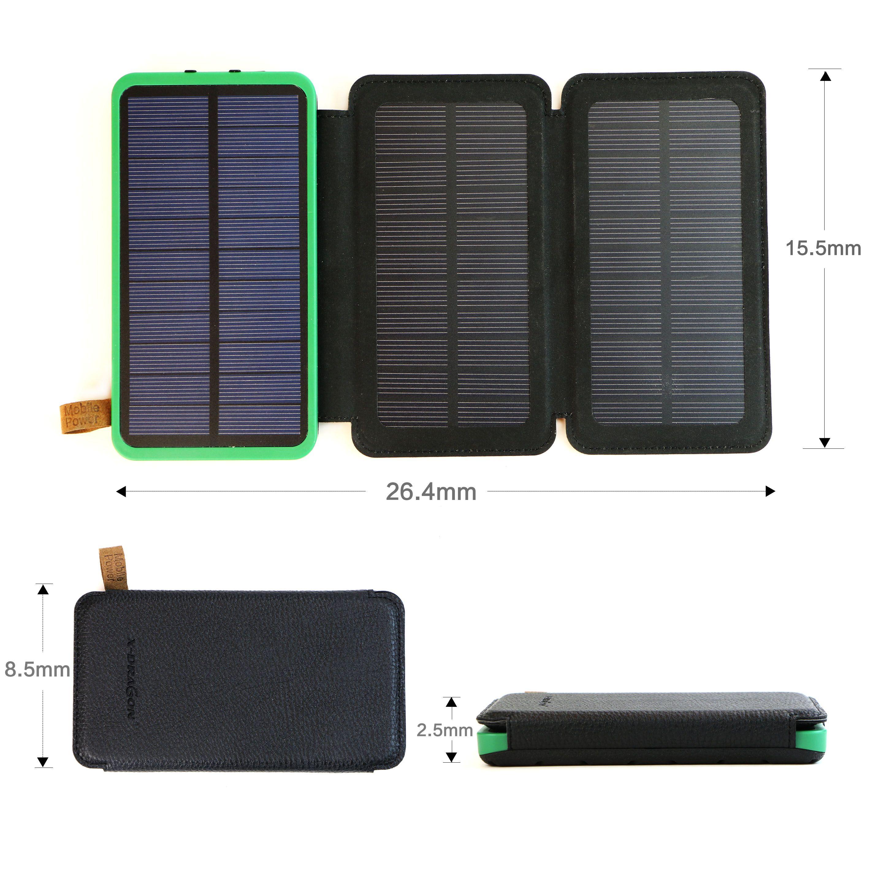 10000mah Solar Power Bank Solar Power Bank Portable Solar Power Solar Panel Charger