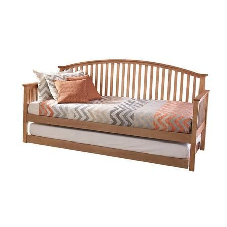 Madrid Oak Wooden Day Bed With Trundle Trundle Bed Wooden Bed