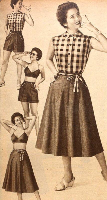 Travelling Light Weekend Wardrobes Vintage Outfits Vintage Summer Outfits Vintage Outfits Casual