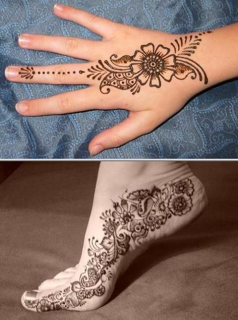 This professional henna tattoo artist has been in the business for ...