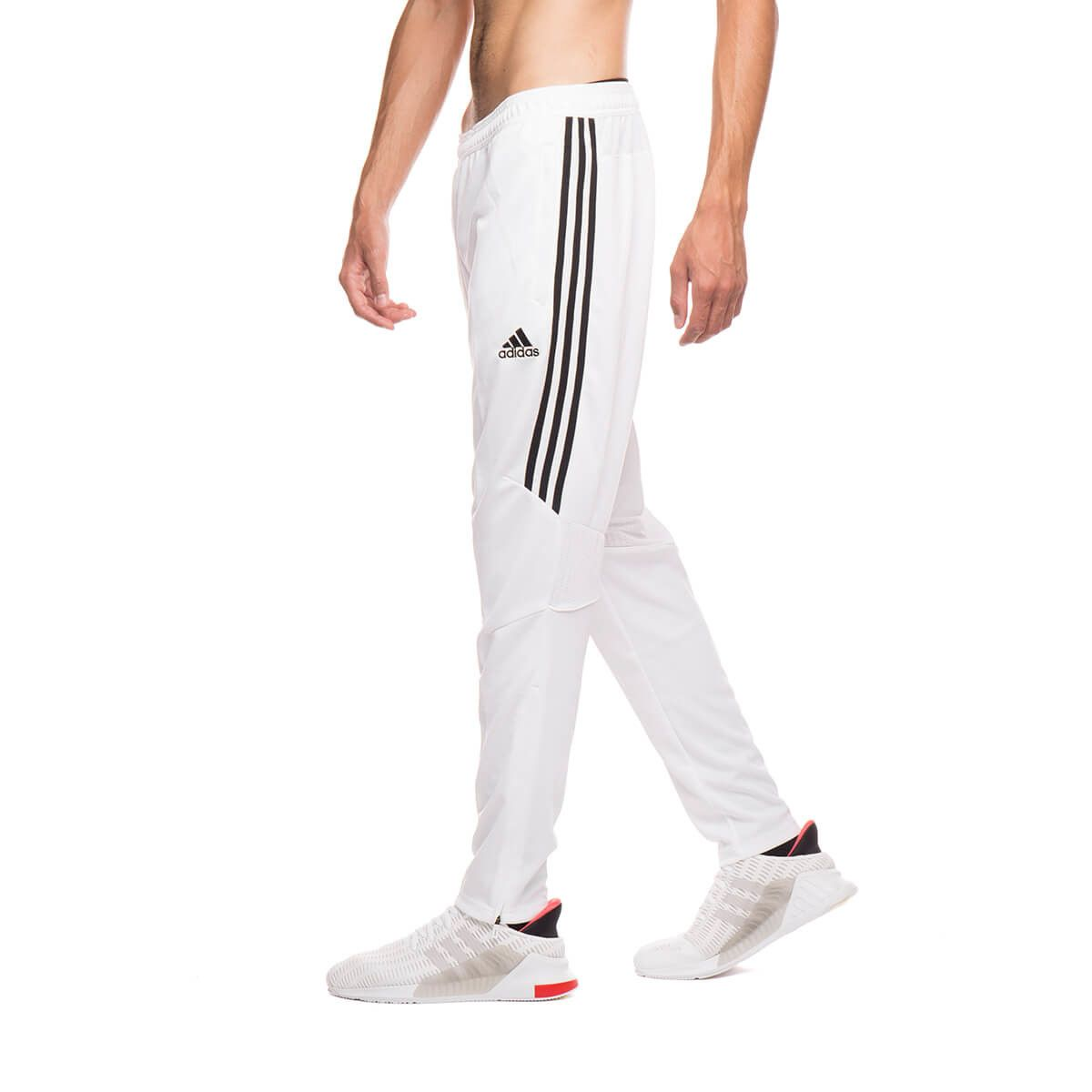 white adidas sweatpants