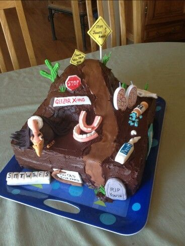 The Awesome Cake My Sister Made For A 60 Th Birthday 60th Ideas Dad