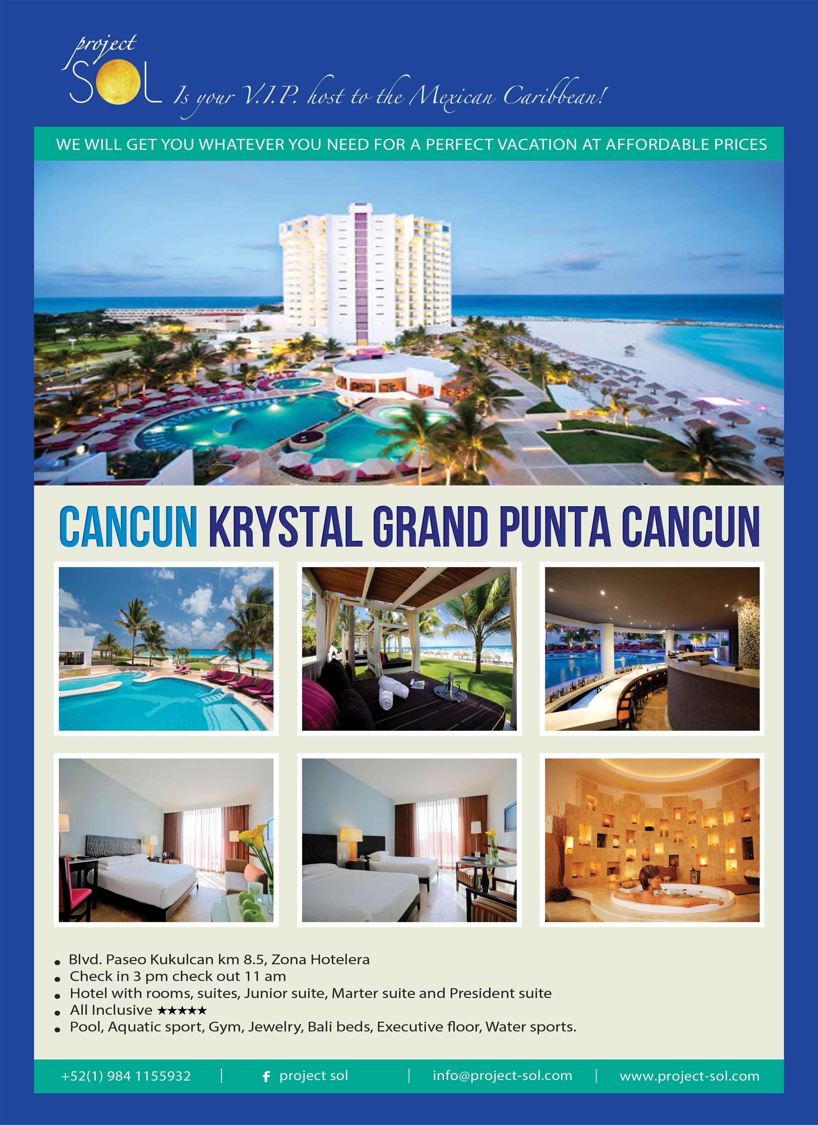 Krystal Grand Punta Cancun Bed And Breakfast Inns Country Inns