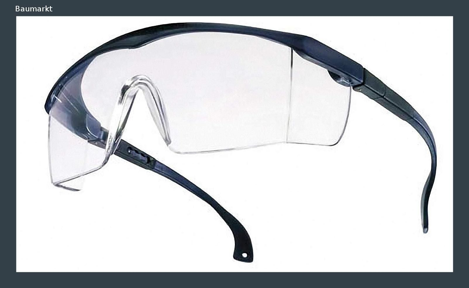 Schutzbrille Augenschutz Arbeitsbrille Sicherheitsbrille Arbeitskleidung Augen