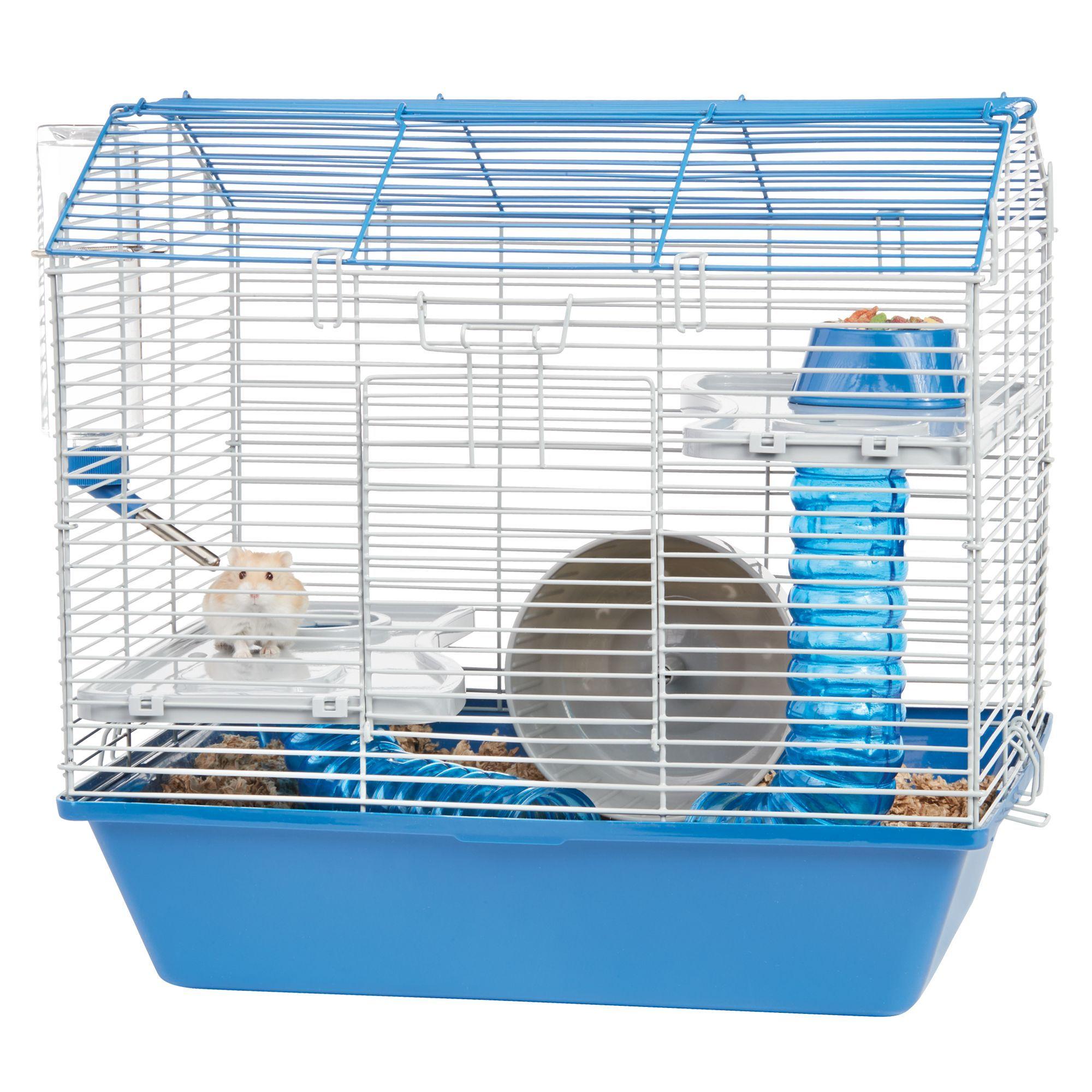 All Living Things Hamster Hangout Starter Kit Blue White Small Pets Pet Spray