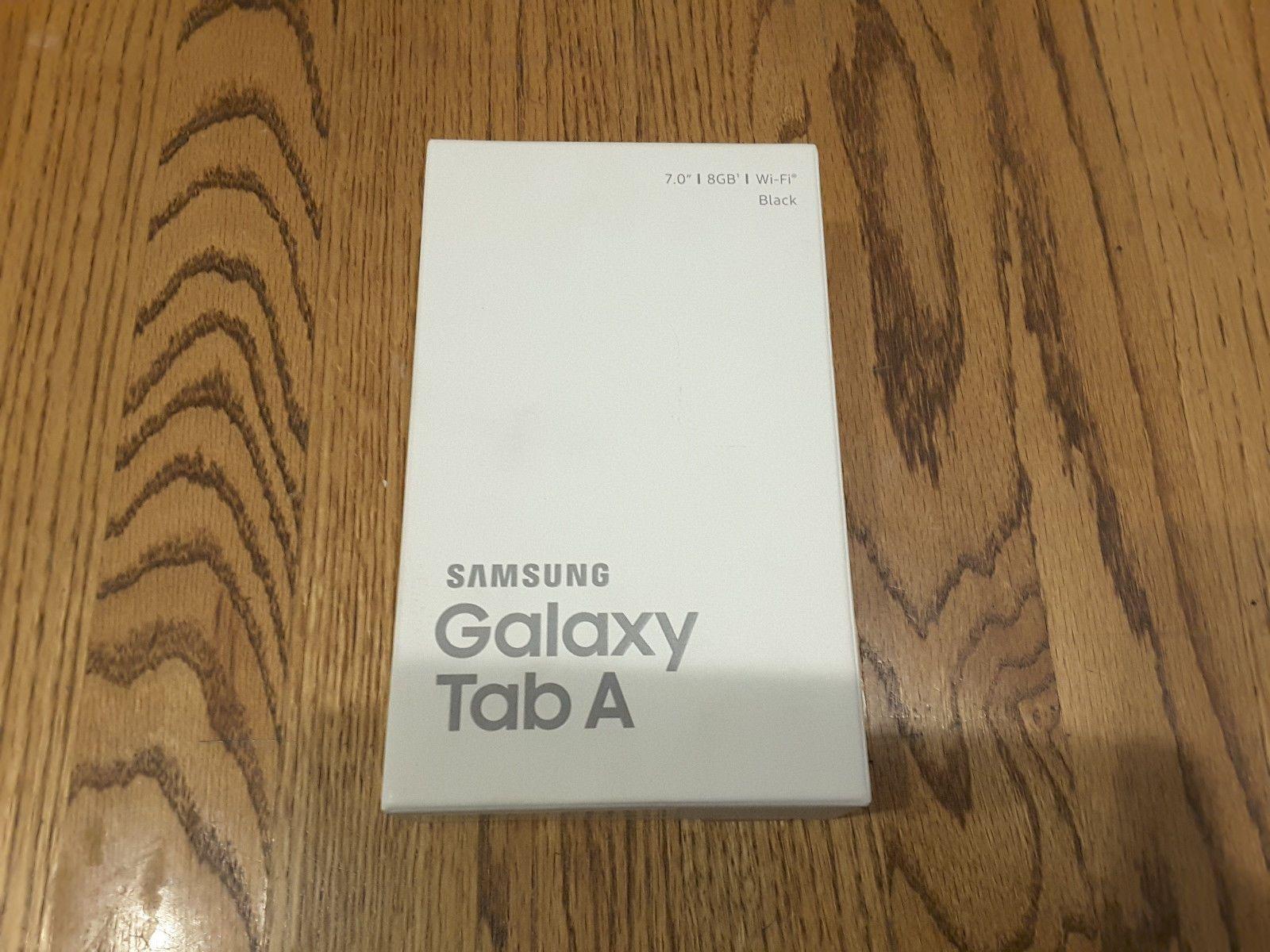 Samsung Galaxy Tab A SM-T280 8GB Wi-Fi 7in  Black (Factory Sealed)