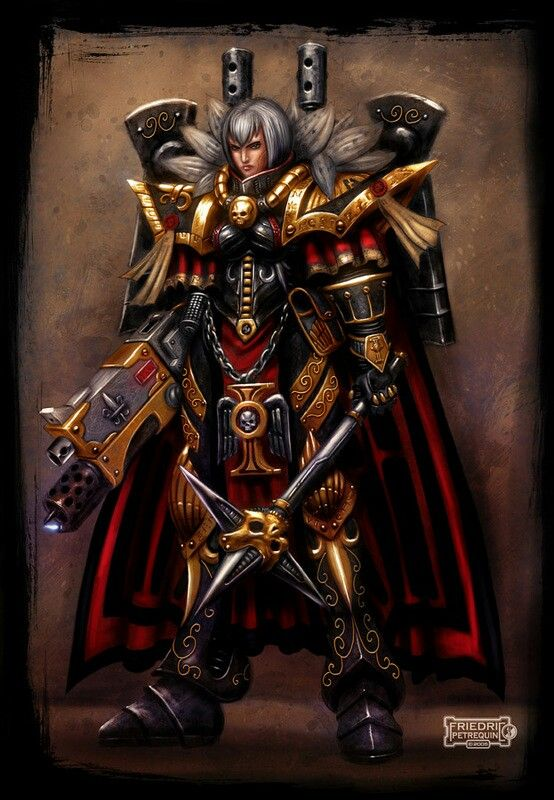 Sister Of Battle Games Warhammer 40k Warhammer Art