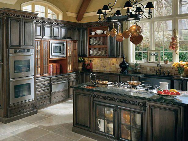 10 Kitchen Islands Stove, Cabinets and Window