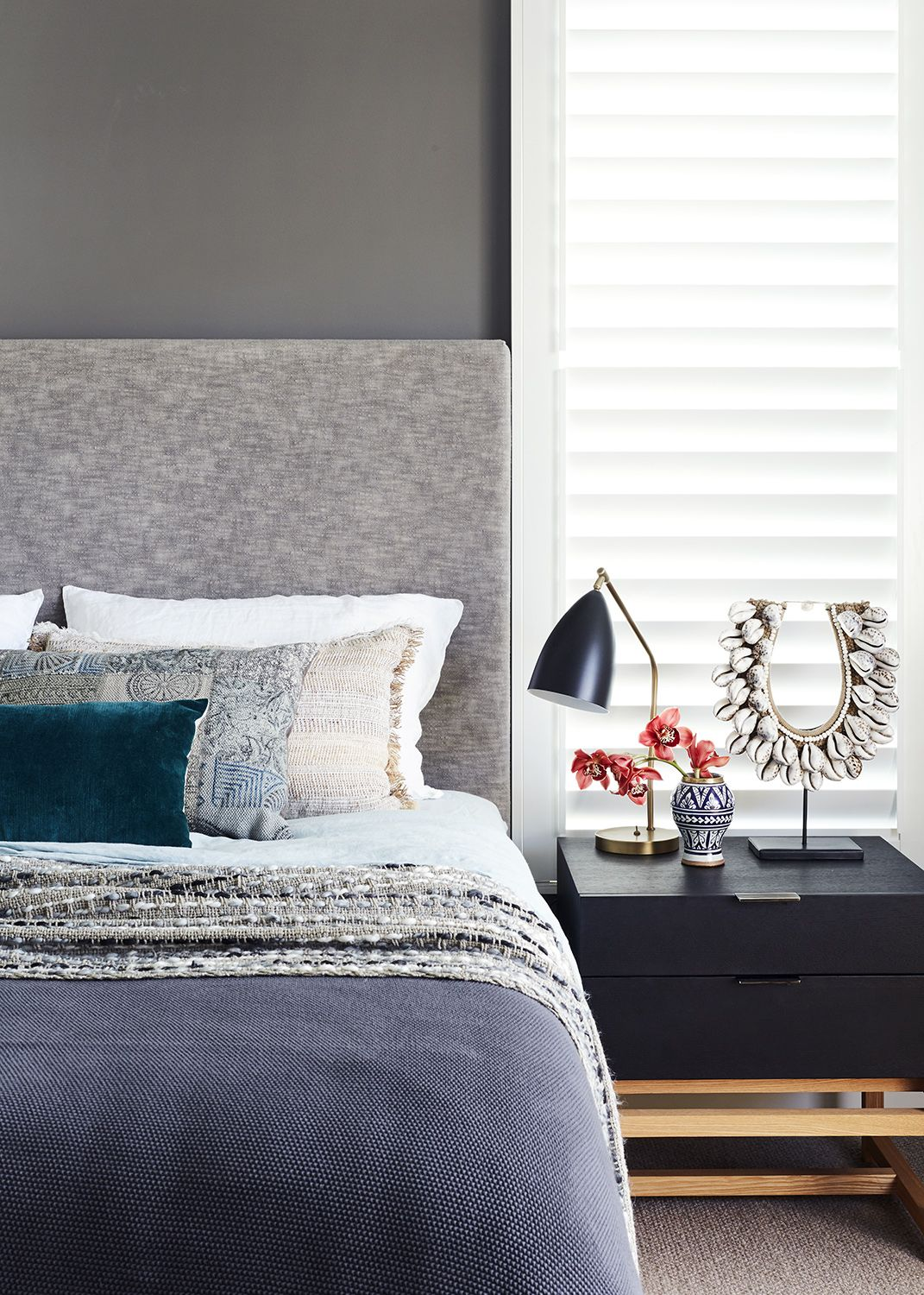 title | Boho Bedroom Gray And Teal