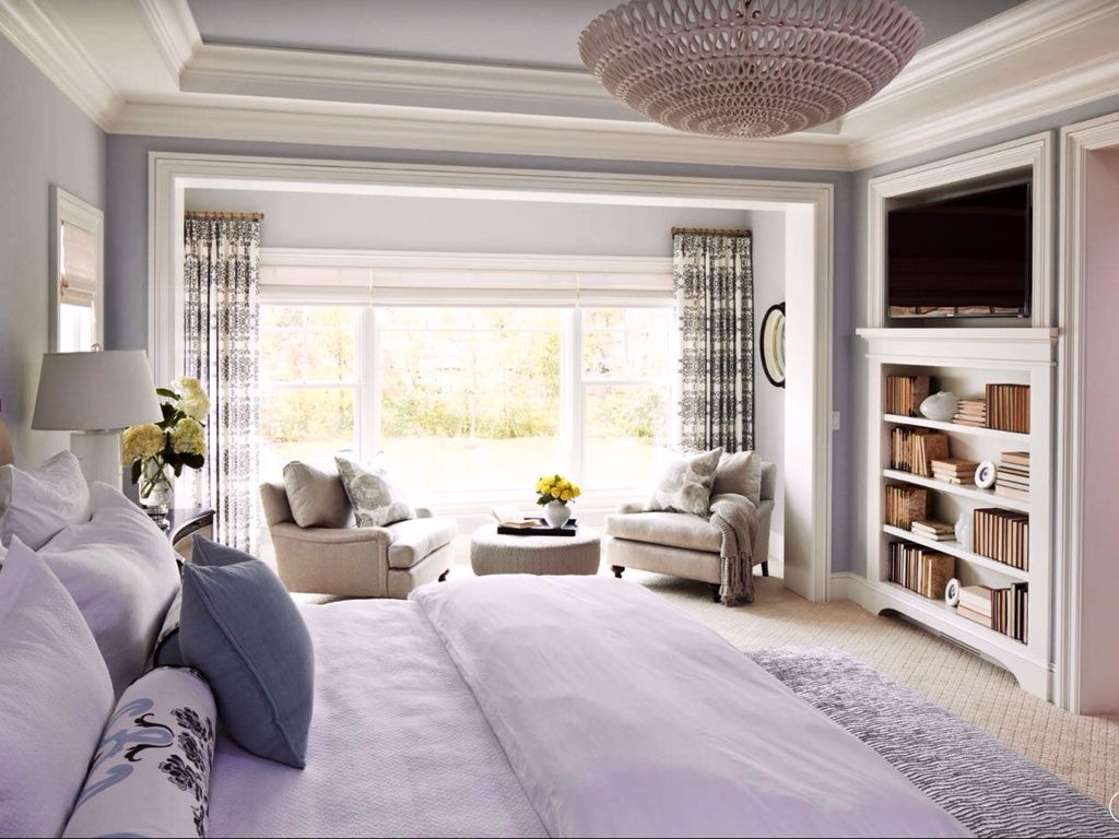 Love the thin bookcase traditional master bedroom with oly studio traditional master bedroom with oly studio pipa bowl chandelier masland arubaitofo Gallery