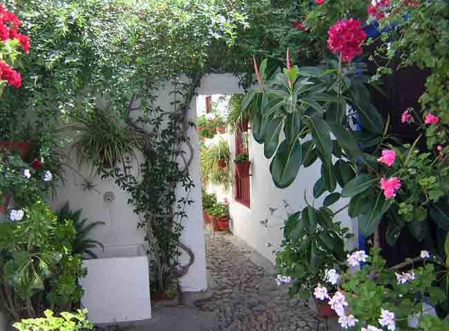Los patios de c rdoba en mayo patio marroqu es 6 for Muebles marroquies en madrid