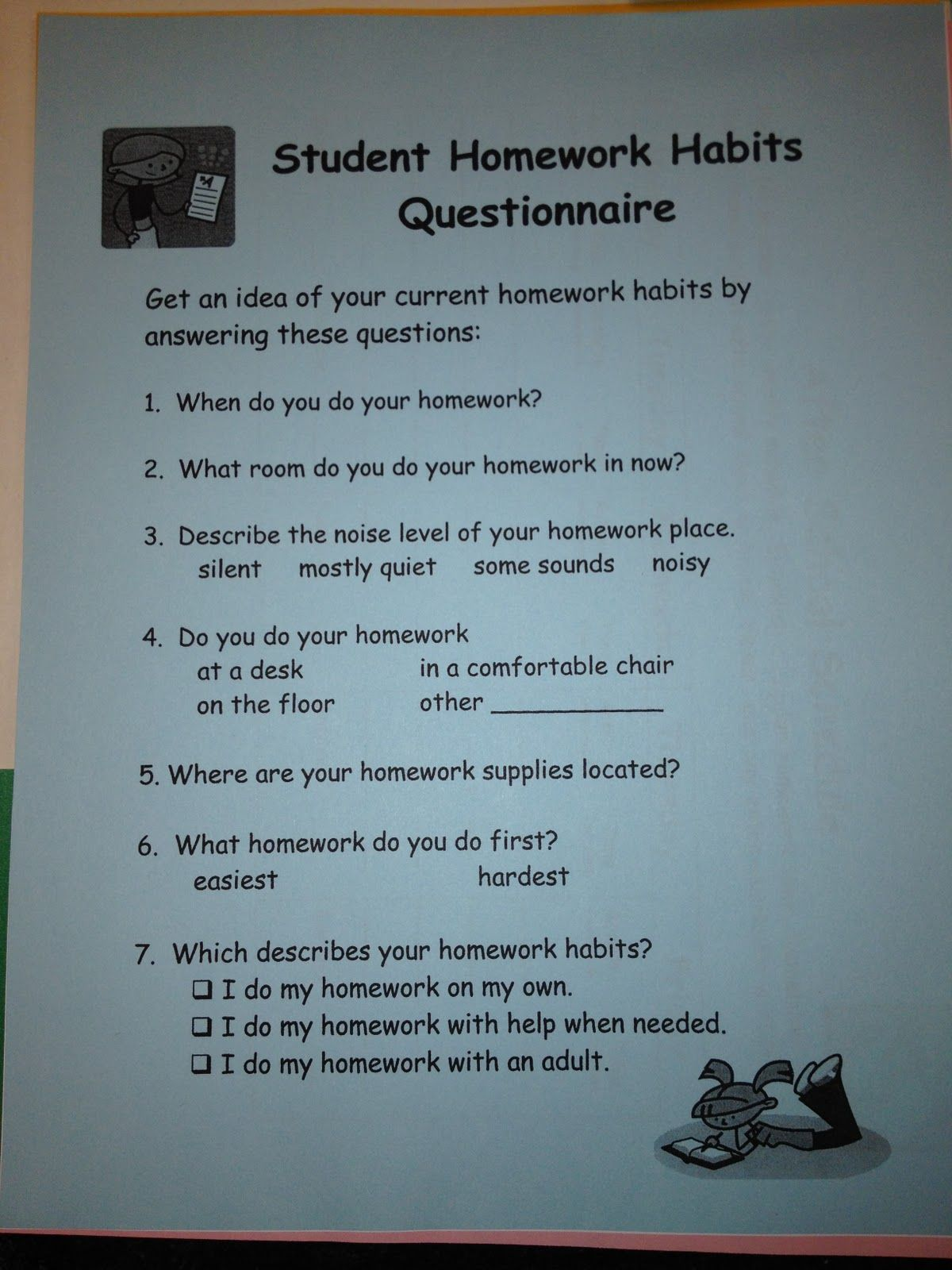 School Counseling From A Z Homework Without Headaches