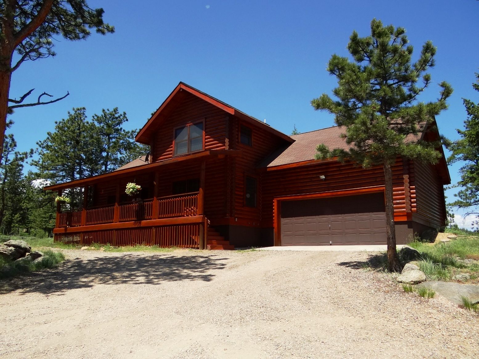 Beautiful Log Home in Red Feather Lakes Colorado