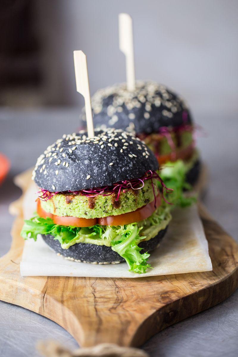 Black edamame burger recipe experience fresh recipe