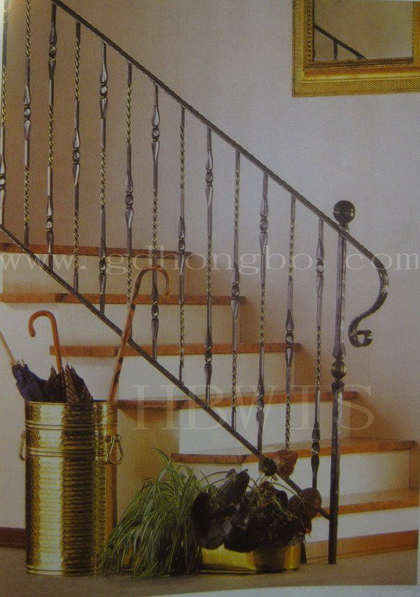 Best Iron Railings For Indoor Stairs Wrought Iron Stair 640 x 480