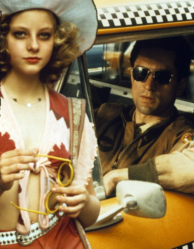 Still Of Jodie Foster And Robert De Niro Taxi Driver 1976 Taxi Driver Martin Scorsese Movies