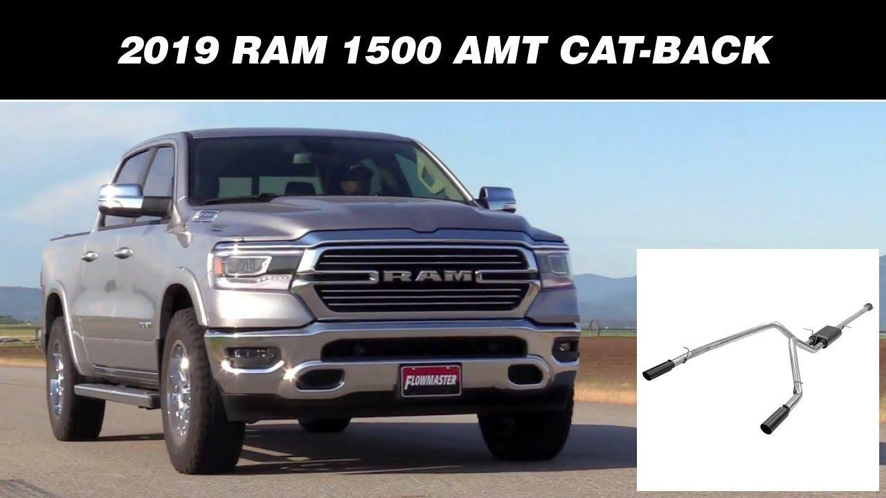 exhaust for 2019 ram 1500 trucks w