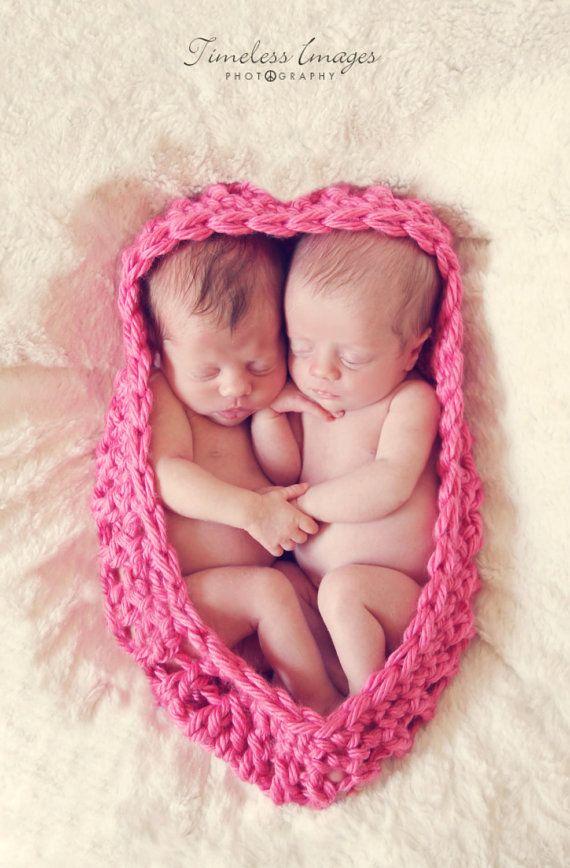 Newborn twin (or single) Nesting Bowl